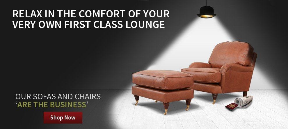 Relax in the comfort of your very own first class lounge