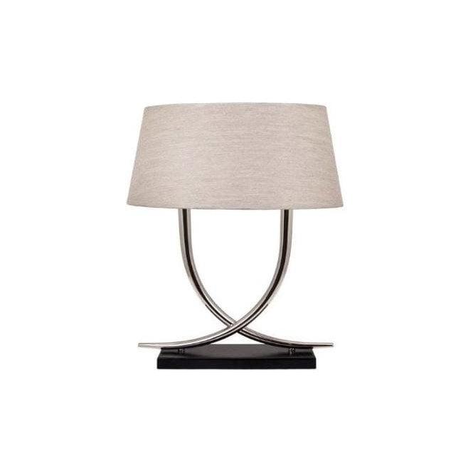 Arianna Table Lamp With Oval Shade. U2039