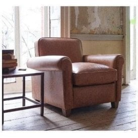 Arlo & Jacob Edmund distressed leather armchair