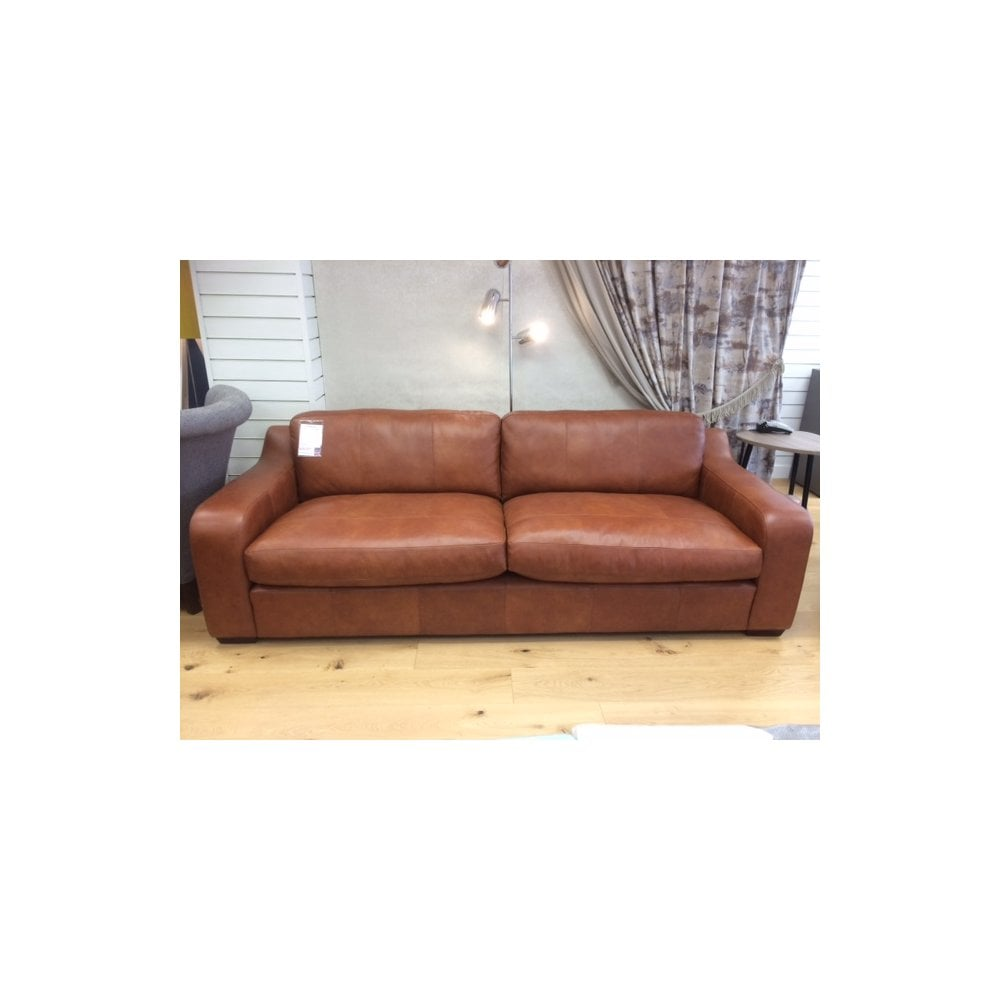 Arlo & Jacob Pembroke large leather sofa