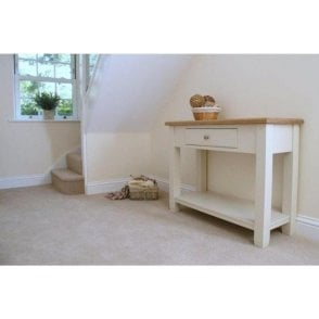 Barley Painted Console Table