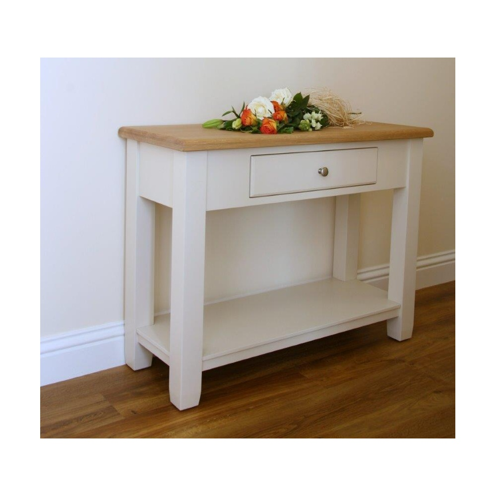 painted console table. Barley Painted Console Table ·