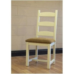 Barley Painted Dining Chair - Ladderback