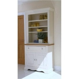 Barley Painted Open Dresser (Top Only)