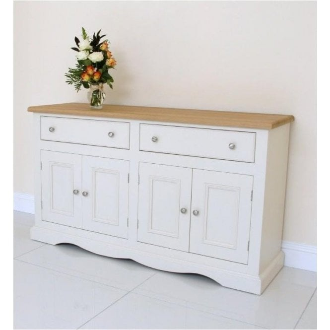 Barley Painted Sideboard - Large