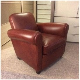 Barrington Leather Club Chair