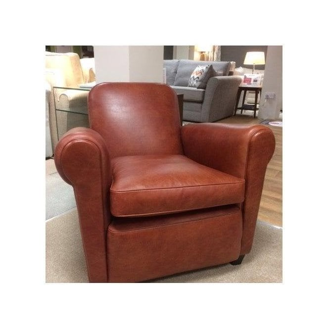 Awe Inspiring Barrington Leather Club Chair Original Version From Home Andrewgaddart Wooden Chair Designs For Living Room Andrewgaddartcom