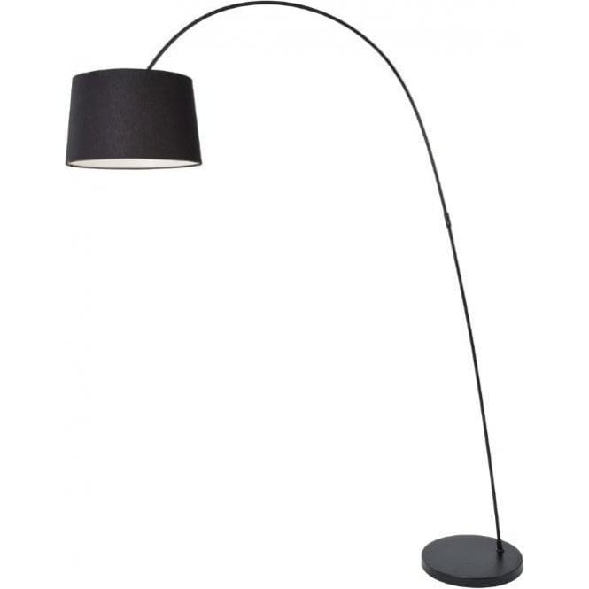 Black Floor Lamp and Shade