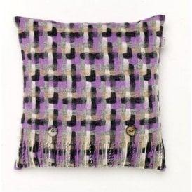 Bronte By Moon Geometric Clover Cushion