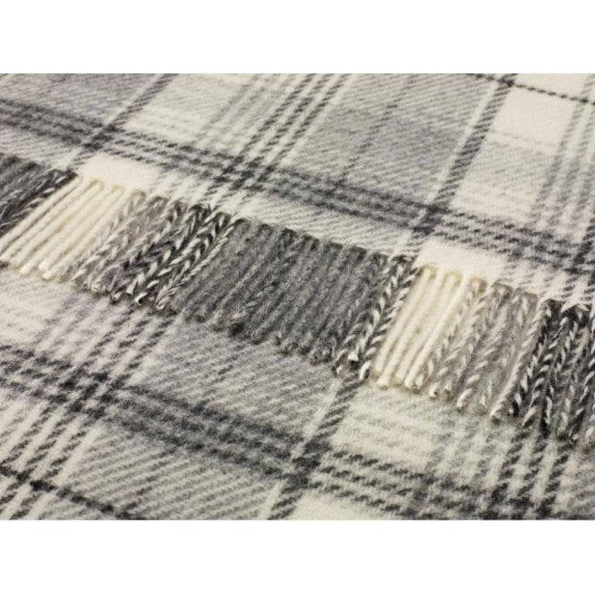Bronte By Moon Huntingtower Grey Throw