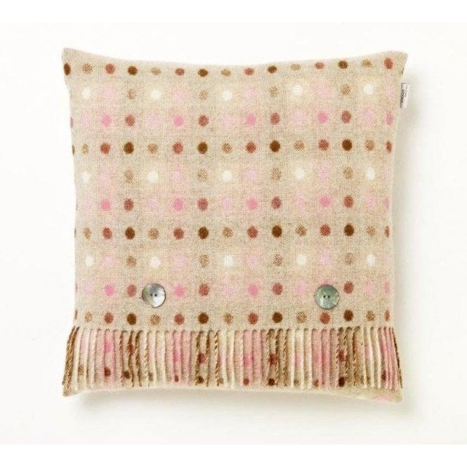 Bronte By Moon Multi Spot Beige Cushion