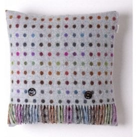 Bronte By Moon Multi Spot Grey Cushion