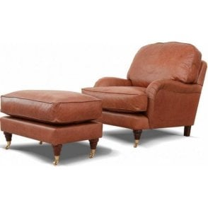 Burnham Armchair in Leather