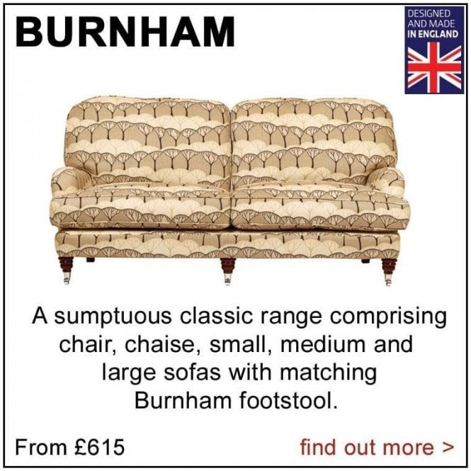Burnham Sofa and Chair Range