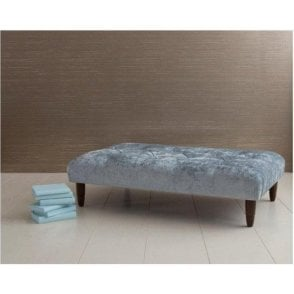 Cambridge Buttoned Footstool