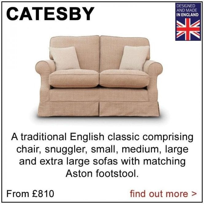 Catesby Small Sofa (as shown above)