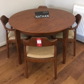 Citadel Round Dining Table and Chairs