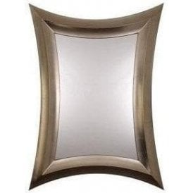 Coca Mirror - Silver Leaf