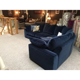 Collins and Hayes Jarvis Fabric Corner Sofa