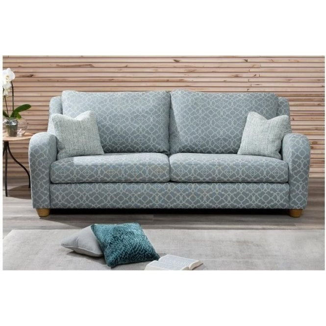 Collins And Hayes Large Brooke Fixed Cover Sofa By Home Of