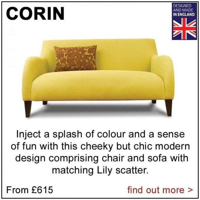 Corin Small Sofa (as shown above)