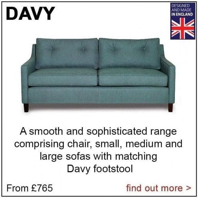 Davy Medium Sofa (as shown above)
