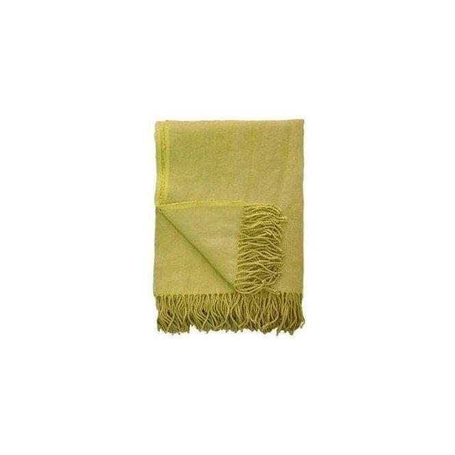 Designers Guild Sienna Citrus Yellow Blanket