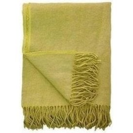 Designers Guild Sienna Citrus Yellow Blanket