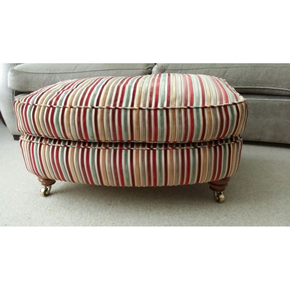 Duresta Lansdowne Used Run Up Footstool Only 163 249 At Home