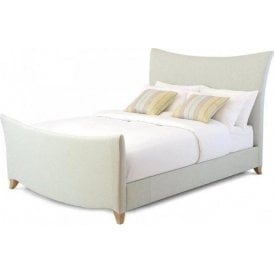 Esme Double Upholstered Fabric Bed