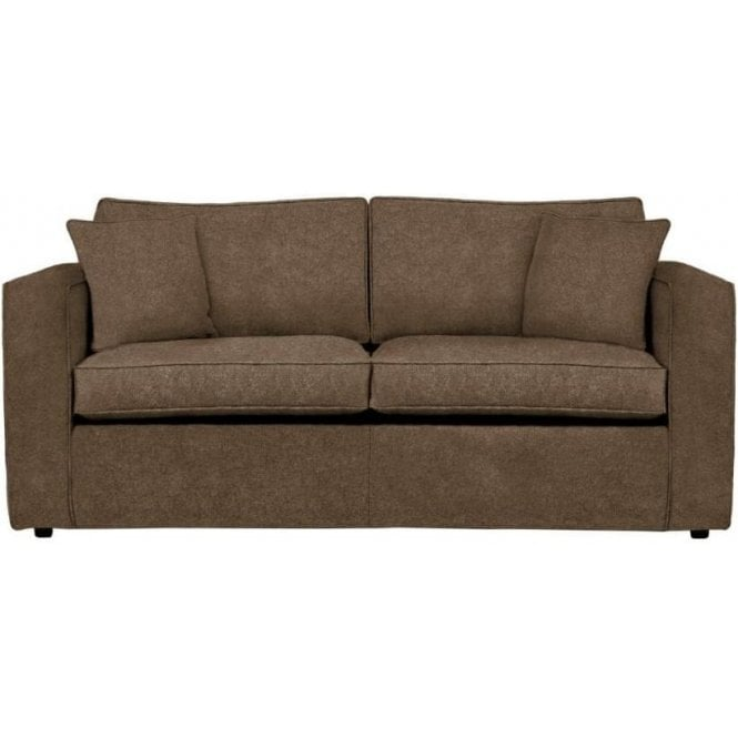 George medium 3 4 size sofa bed with 2 fold action and