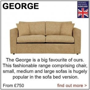 George Small Sofa (as shown above)