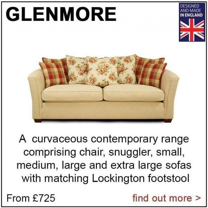 Glenmore Medium 3 Seater Sofa