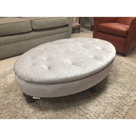 Hayworth Deep Buttoned Ottoman