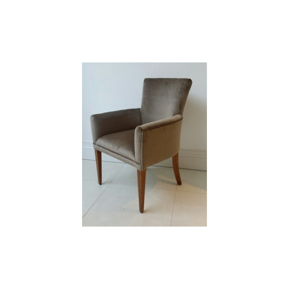 Leamington Carver Hi Back Upholstered Dining Chair At Home
