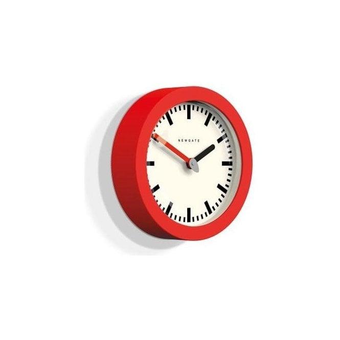 Newgate Andromeda Fire Engine Red Wall Clock