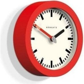 Newgate Andromeda Fire Engine Red Wall Clock