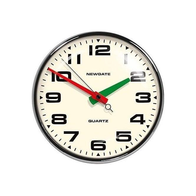 Newgate Brixton Black Wall Clock
