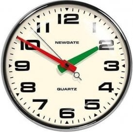 Newgate Brixton Black Wall Clock