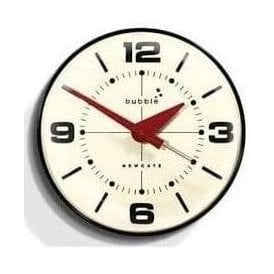 Newgate Bubble Black Wall Clock