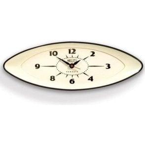 Newgate Bullitt Black Wall Clock