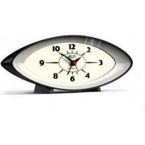Newgate Bullitt Mantel Alarm Clock Black