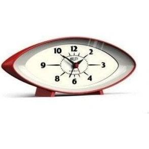 Newgate Bullitt Mantel Alarm Clock Red
