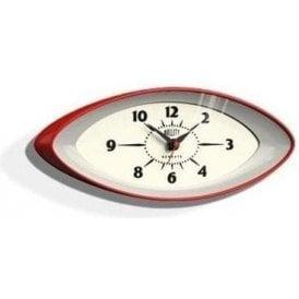 Newgate Bullitt Red Wall Clock
