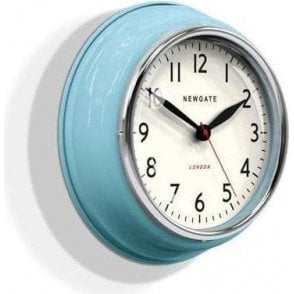 Newgate Cookhouse Kettle Blue Wall Clock