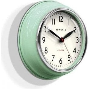 Newgate Cookhouse Kettle Green Wall Clock