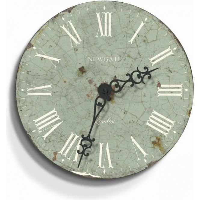 Newgate Countess Crown Green Wall Clock
