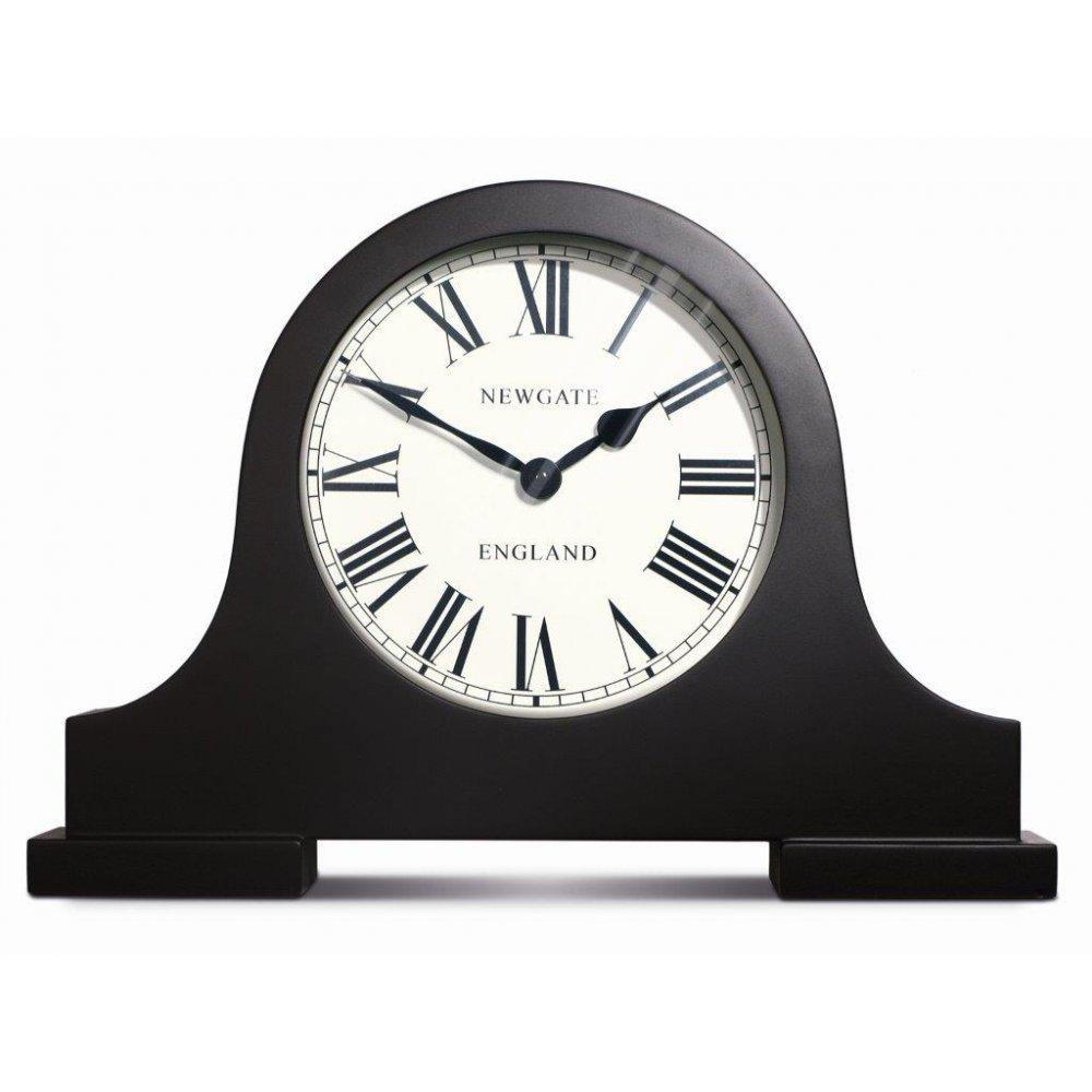 Newgate Mantel Black Mantelpiece Clock By Home Of The Sofa