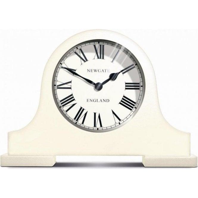 Newgate Mantel Linen White Clock