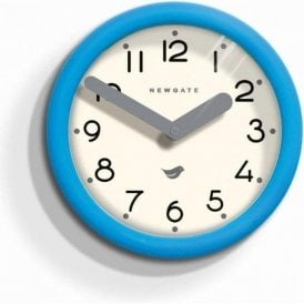 Newgate Pantry Aqua Blue Wall Clock